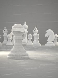 3d-poster-design-ad-chess-contest-open-mind-is-never-blind-work-in-progress-3dartstudio
