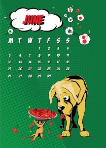 popart-illustrated-vector-calendar-2017-petshop-june