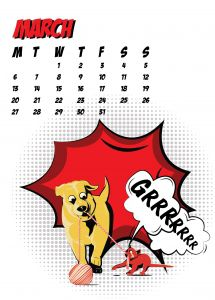 popart-illustrated-vector-calendar-2017-petshop-march