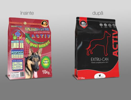 Rebranding Pet Food Packaging Design Project