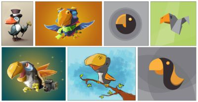 toucan-type-of-illustrations-vectorial-design-sketch-logo-3DArtStudio