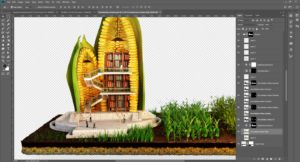 3D-Editing-design-agriculture-concept-corn-library-work-in-progress-3DArtStudio