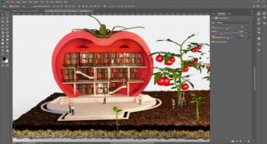 3D-Editing-design-agriculture-concept-tomatoe-library-work-in-progress-3DArtStudio