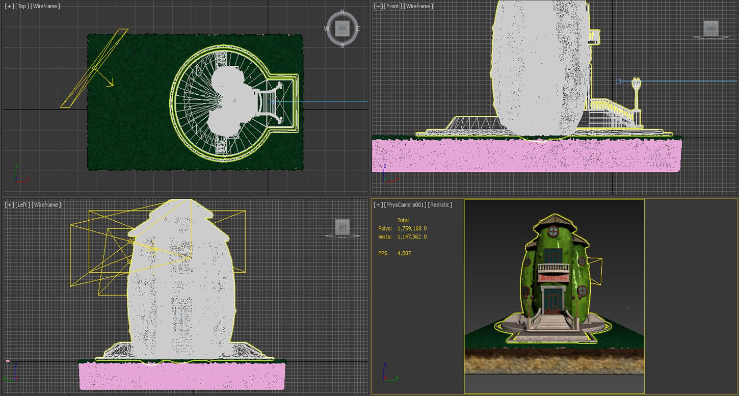3D-modeling-rendering-agriculture-concept-cucumber-building-library-work-in-progress-3DArtStudio