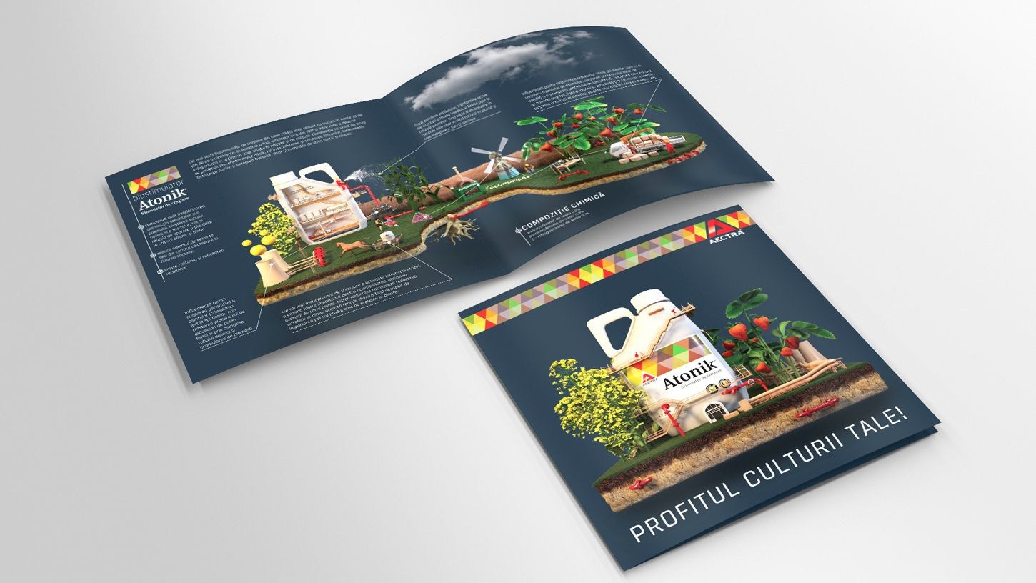 tri-fold-flyer-3d-modeling-mockup-products-agriculture-rebranding-graphic-design-3DArtStudio