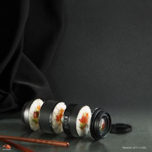 conceptual-product-photography-retouching-composition-sushi-camera-lens-3DArtStudio
