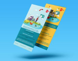 Campaign - marketing - illustration - benefits- MockUp - 3DArtStudio